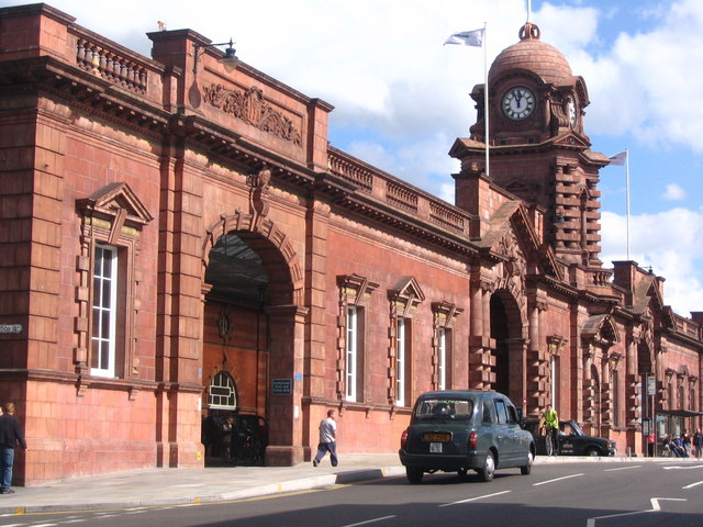 Nottingham Railway Station - main entrance