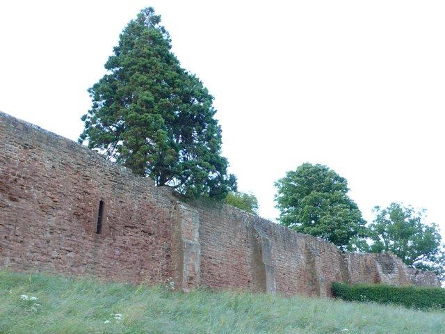 South Curtain Wall Kenilworth Castle © Nigel Mykura :: Geograph ...