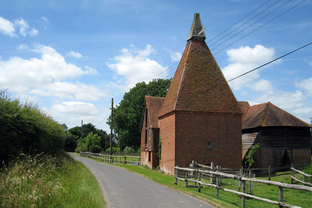 Oast House at Cherry Tree Farm, Mill Lane, Frittenden, Kent