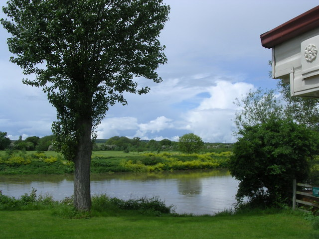 View Across the Avon [Springtime], Offenham Park