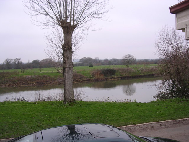 View Across the Avon [Winter], Offenham Park