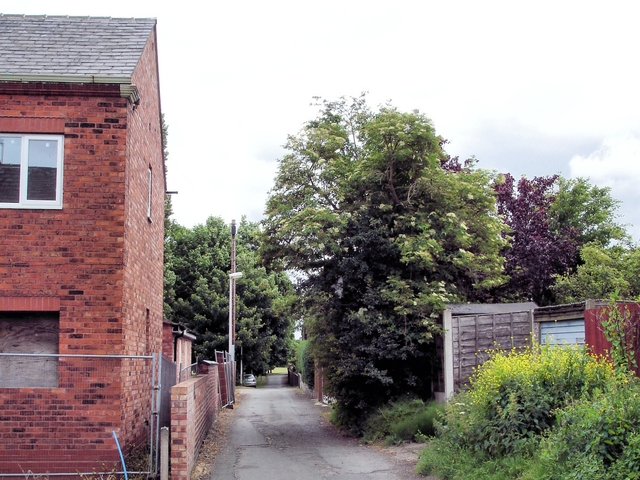 Winnington - Northwich footpath 12