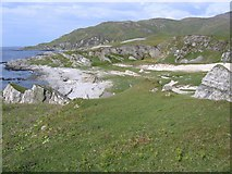 NR5690 : Sandy bay south of Corpach by Andy Spenceley