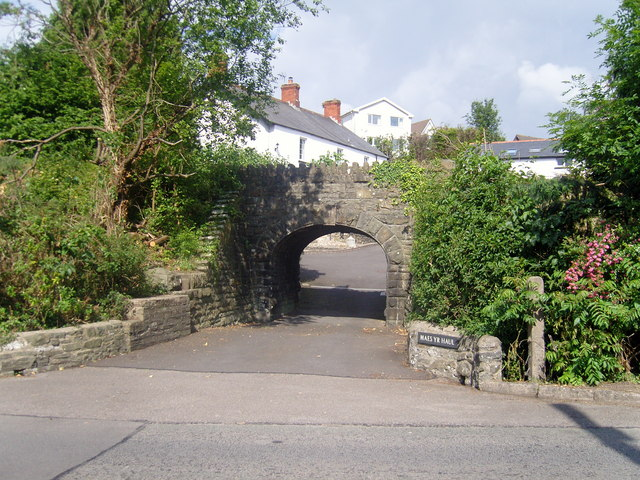 Entrance to Maes-yr-Haul Cottages, Penygawsi