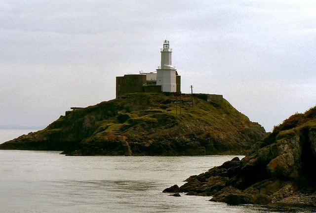 Mumbles Lighthouse.