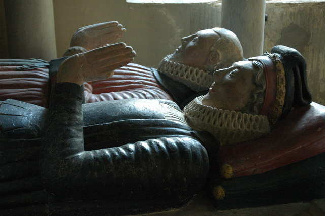 Monument to Thomas Estcourt and his Wife, Shipton Moyne
