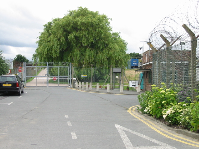 Entrance To The Former Raf Ash Radar 169 Nick Smith