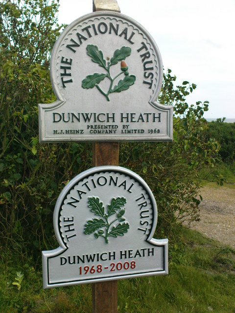 Dunwich Heath Signs