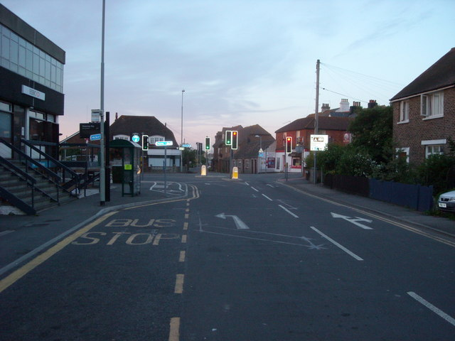 Crossroads at Pevensey