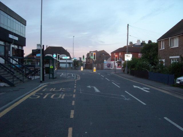 Crossroads at Pevensey