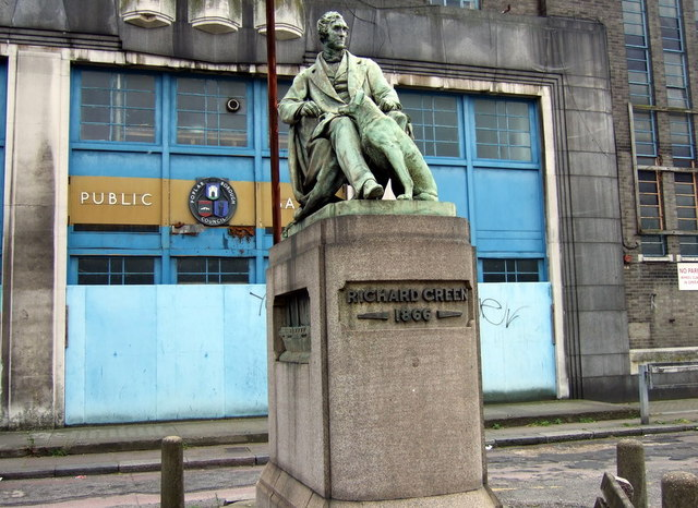 Statue of Richard Green in Poplar