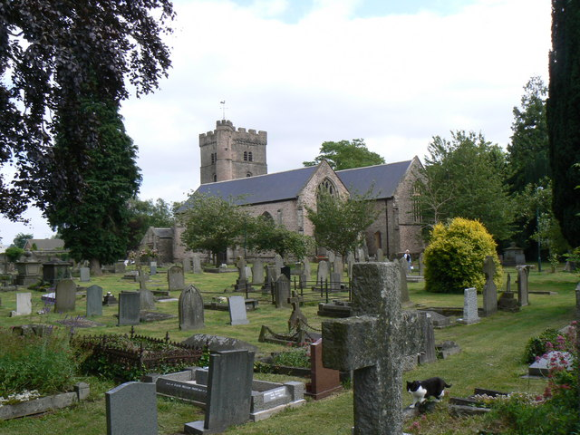 St. Mary's priory church, Usk , Monmouthshire