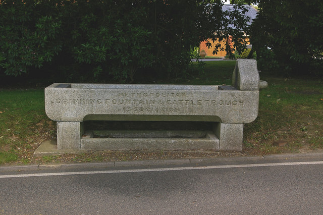 Former drinking trough