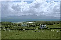 NR3892 : Baleromindubh Farm and Baleromindubh Cottage by Julian Paren