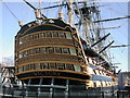 SU6200 : The stern of HMS Victory by Peter Beaven