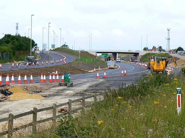 Blunsdon By-pass south site, Blunsdon 30.06.2008