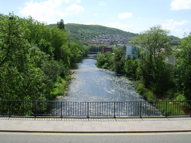 River Taff looking South