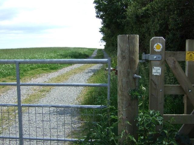 Footpath to the seaside