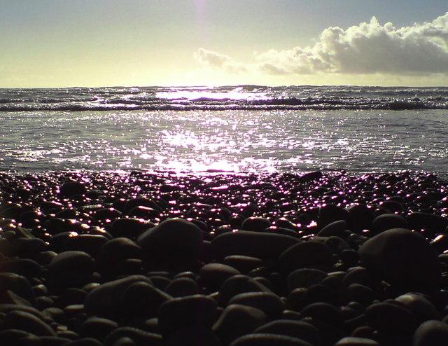 Crab's eye view from Murlough Beach