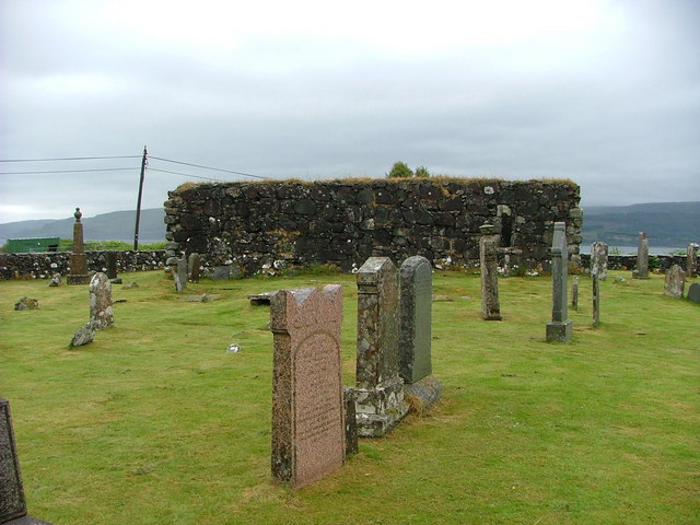Pennygown cemetery, Mull - ruined chapel