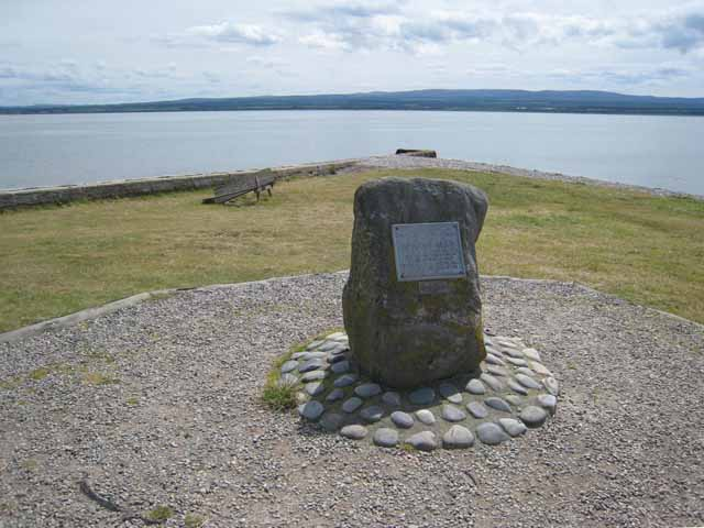 Brahan Seer monument, Chanonry Point