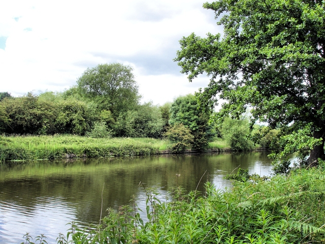 River Weaver near  Kingsmead