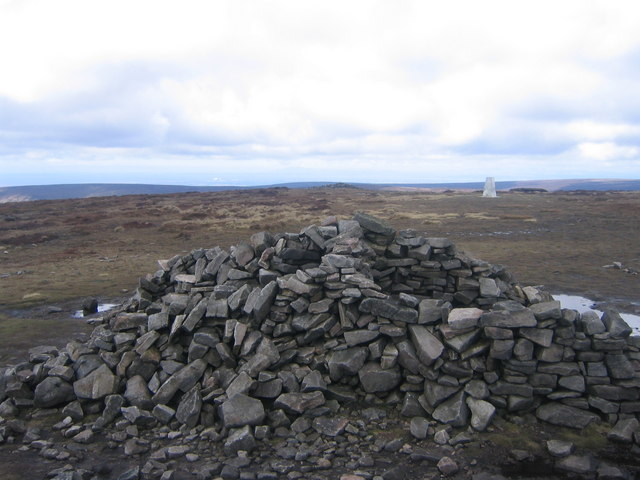 View from Cairn to triangulation point