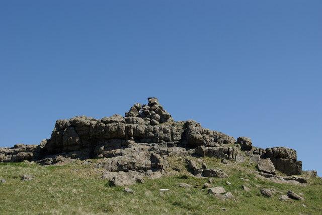 Beinn Bhac-ghlais summit cairn