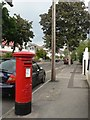 SZ1093 : Queen�s Park: postbox № BH8 265, Brackendale Road by Chris Downer