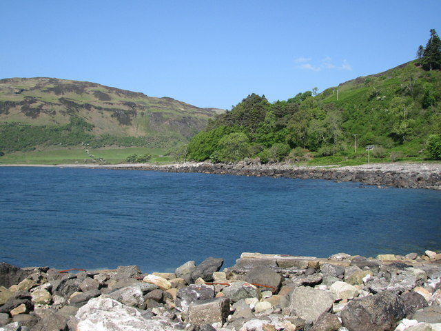 Boulder Beach at Carsaig