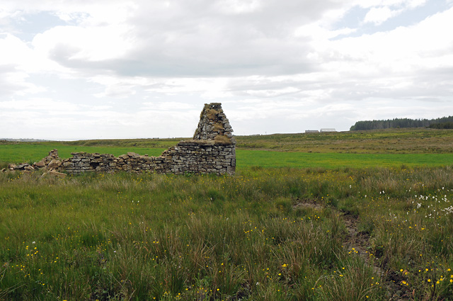 Ruins of Croft near Clashcraggan