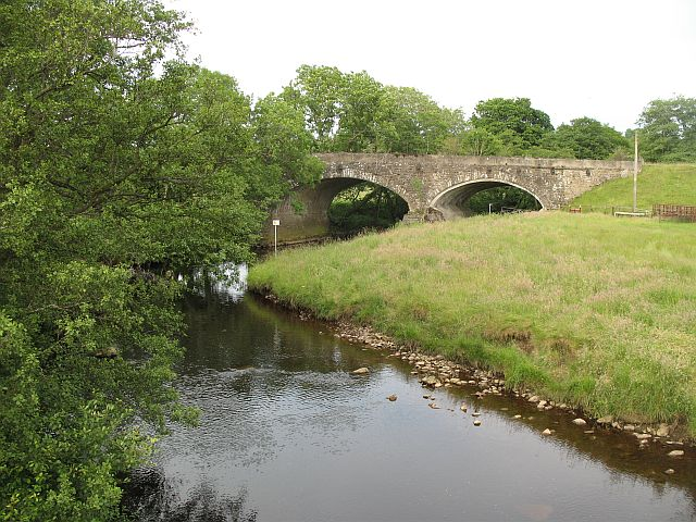 Bridge over Tarset Burn, Lanehead