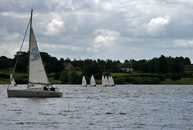 Sails on Rutland Water