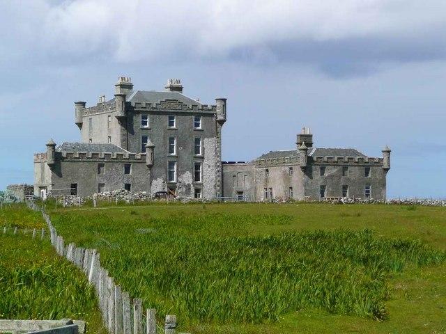 The 'new' Breachacha Castle