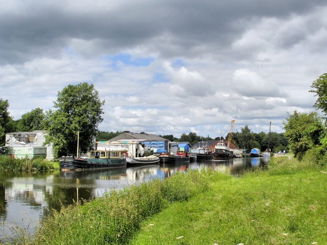 River Weaver - marina and boatyard