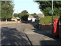 SZ0795 : Ensbury Park: postbox № BH10 366, Green Lane by Chris Downer