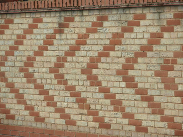 Chevron Wall, Annesley Close