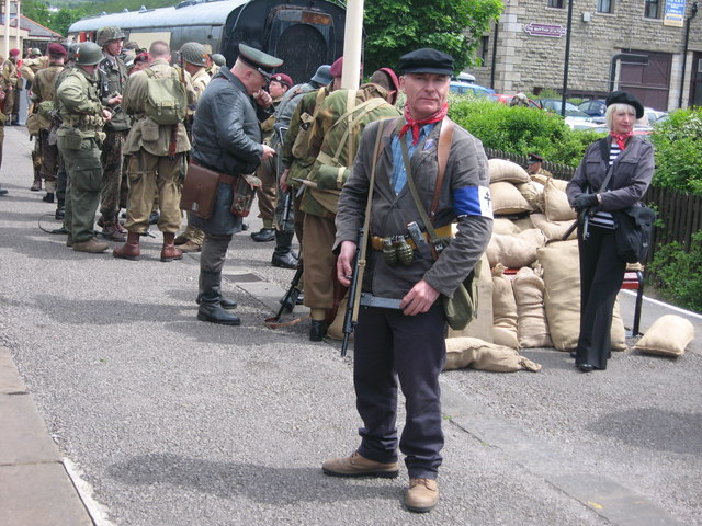 War Weekend at Rawtenstall Station 2008