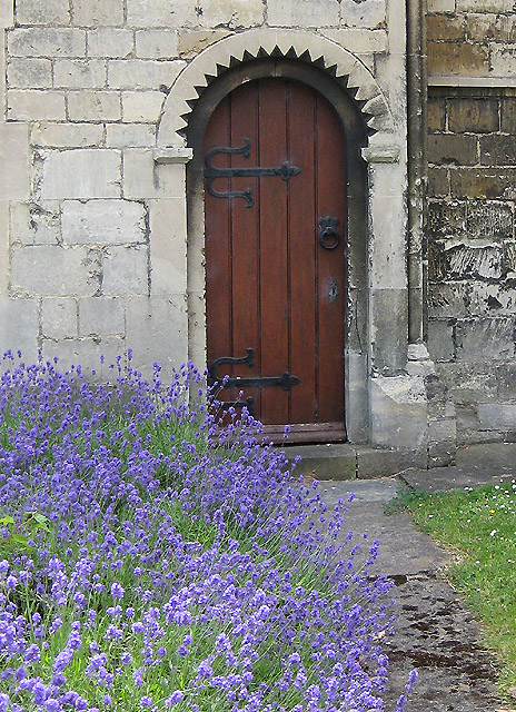 Neo-Norman doorway, St Peter's Church