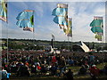 ST5939 : The Pyramid Stage - Glastonbury 2008 by Sharon Loxton