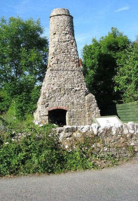 """Carew Chimney (""""Flemish chimney"""")"""