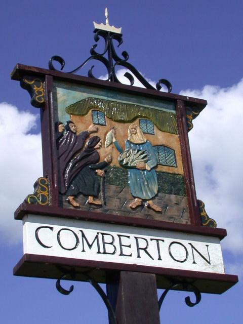 Comberton Village Sign - east side