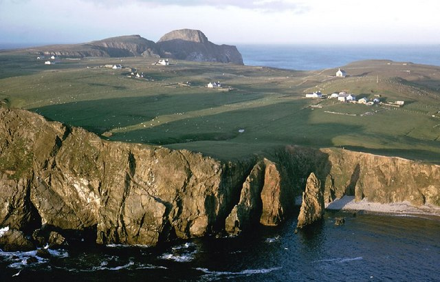 Coastline near Malcolm's Head