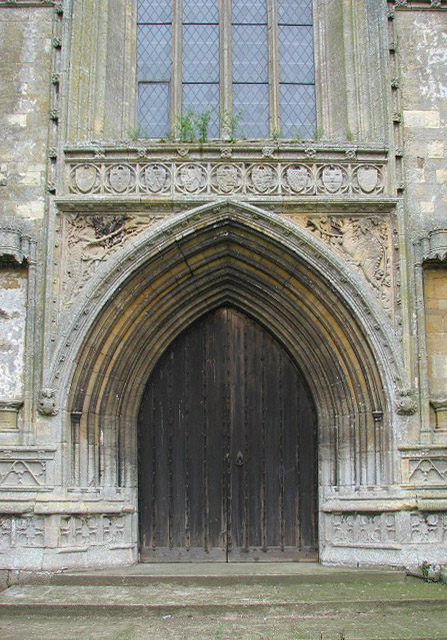 St Agnes' church - west doorway