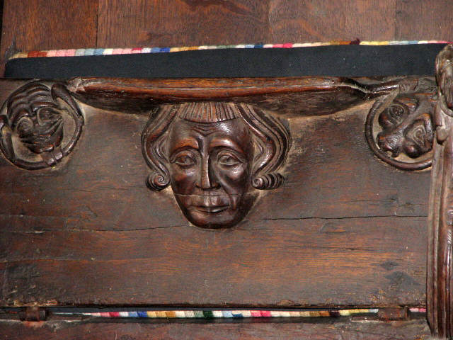 St Agnes' church - misericord
