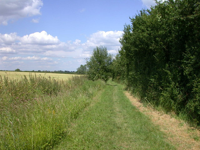 Bridleway to Bourn, continued again