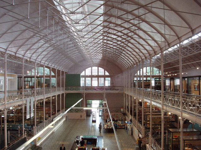 Iron Internal Structure Of Museum Of 169 David Hawgood Cc