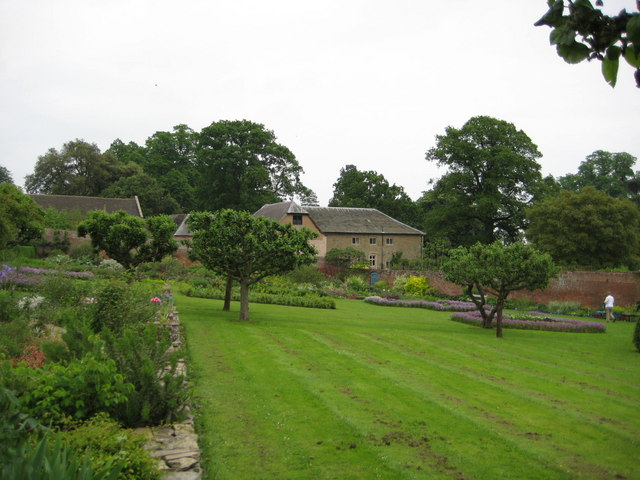 The gardens at Croft Castle