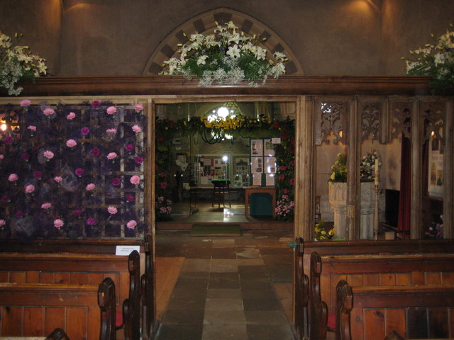 Interior of St Mary the Virgin Eardisland