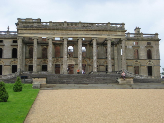 South Portico - Witley Court